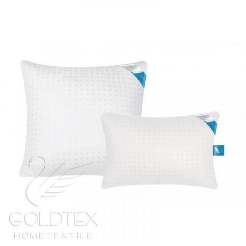 Подушка GOLDTEX SWAN DOWN Лебяжий пух/тик